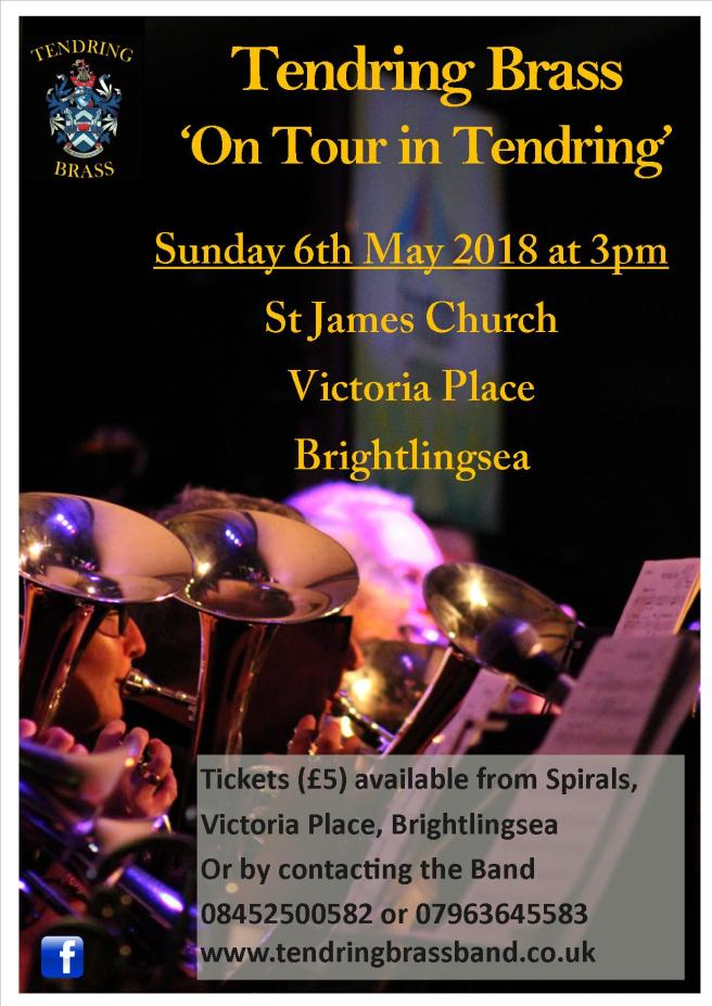 Brightlingsea Concert with Spirals details